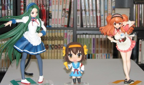 Got my two tsuruya but I don't think I'll be getting the Max Factory mikuru maid.  Two is enough for now ^^;